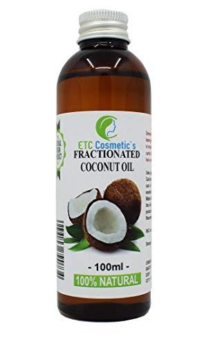 Organic Fractionated Coconut OIL (Bio fraktioniertes Kokosöl) - 100ml - rein, 100% natürlich