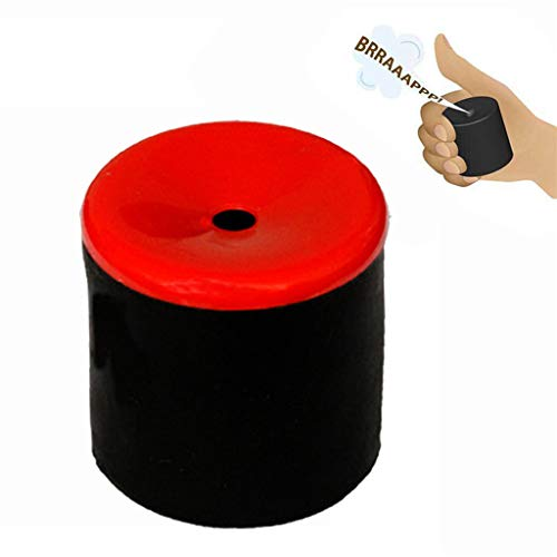 AmaMary Furzgeräusche Furz Pooter, Neuheit Gag Spielzeug Erstellen Furzen Geräusche Furz Pooter Gag Witz Maschine Party (1 Stück, rot)