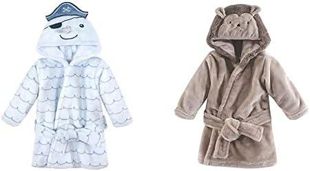 Hudson Baby Boy Plush Animal Branded goods Hedge Narwhal Excellence Face 2-Pack Bathrobe