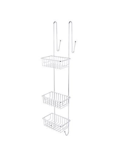 Ribelli Duschablage zum Hängen Edelstahl- Duschregal ohne Bohren für Bequeme Aufbewahrung von Shampoo - Rutschfester Duschkorb zum Einhängen - Duschregale - Duschkörbe mit Handtuchhalter