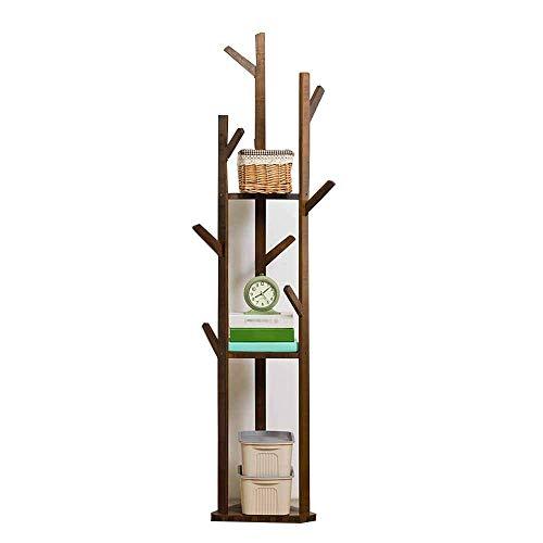 FVGH Driehoekige basis Boomtakken modellen Verticale kapstok Moderne eenvoud bamboe Studie slaapkamer woonkamer B