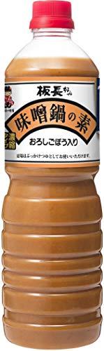 神州一味噌 板長好み 味噌鍋の素 1.1kg