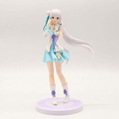 Liiokiy Anime Model PVC Modelo Hecho A Mano Modelo Juguetes Coleccionables Juguete Vida en un Mundo Diferente de Zero Lovely Dibujos Animados Juego Caracteres Art Sattues Animaciones Boxed