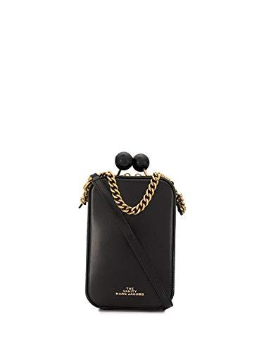 Luxury Fashion | Marc Jacobs Dames M0015417001 Zwart Leer Schoudertassen | Lente-zomer 20