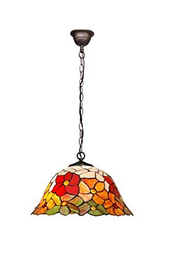 Ivintage Bell Pendentif C/chaîne, Multicolore, 40 x 30/130 cm