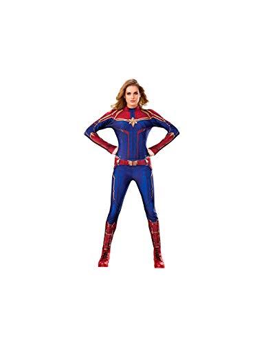 DISBACANAL Disfraz Capitana Marvel Mujer - -, XS