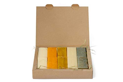 Die kleine Öko Box - sapor Seife gemischt 10 Stück