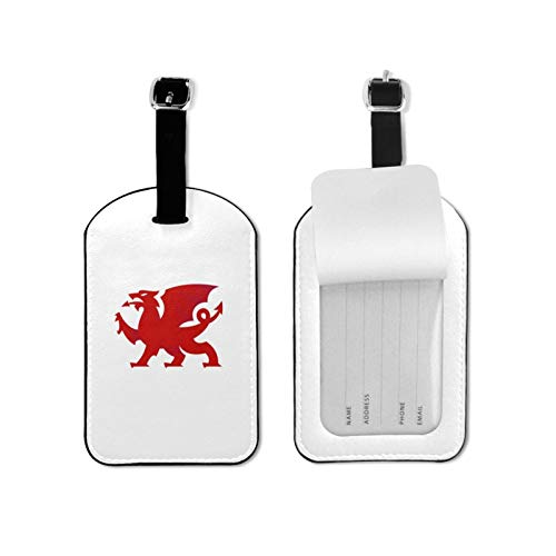 Wales Welsh Dragon Durable Leather Travel Bag Luggage Tag