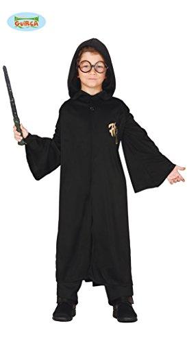 Guirca Zauberer Schüler Kostüm für Kinder Gr. 98-146, Größe:128/134