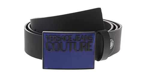 Versace Jeans Couture Herren Cintura Gürtel, Schwarz (Nero 899.0), 85|#673 (Herstellergröße: 85.0)