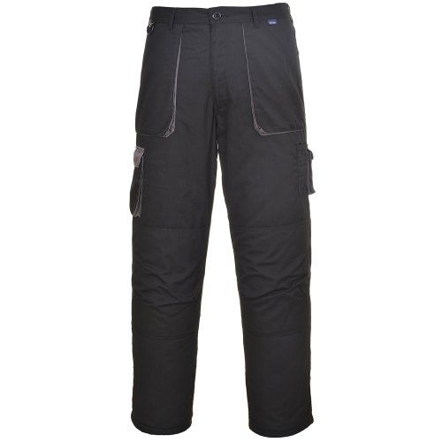 Portwest Texo Gepolstert Gefüttert Thermo Arbeitskleidung Knieschützer Cargohose Grau oder schwarz - Beige, S