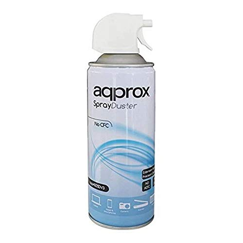 Approx APP400SDV3 - Spray de aire comprimido, color blanco E