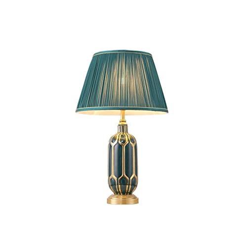 Per il soggiorno, la stanza dei bambini, Lampade da tavolo scrivania lampade in ceramica Lampada da tavolo Lampada da comodino camera da letto Retro Living lampada in camera, Adatto a camera da letto,