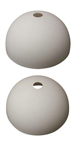 Wofi Lampenglas 7764 Georgia Ersatzschirm Schirm Glas Lampenschirm Ersatzglas für Pendelleuchte Fluter Stehlampe ca.24,5 cm