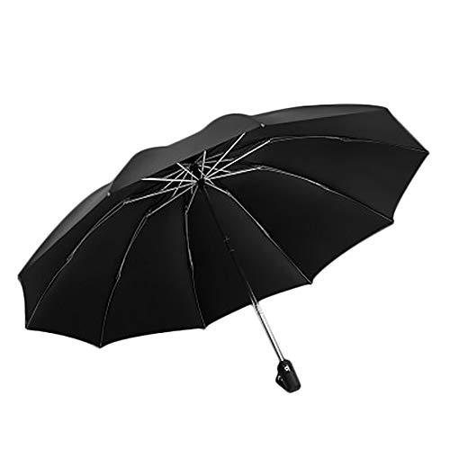 WHDXYM weerbestendige paraplu, ongeacht of je de paraplu van de vrouwen van de paraplu repareert, voor mannen die de paraplu van de paraplu repareren. Oranje.