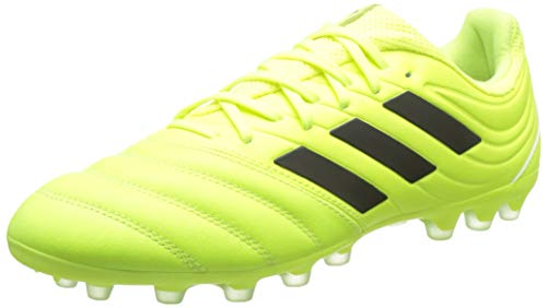 adidas Copa 19.3 AG, Hombre, Amarillo (Solar Yellow/Core Black/Solar Yellow 0), 43 1/3 EU