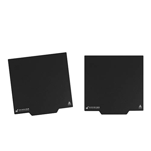 PETSOLA 2Pcs Heatbed Sheet Aufkleber für Wanhao I3 Anet A8 A6 3D Drucker