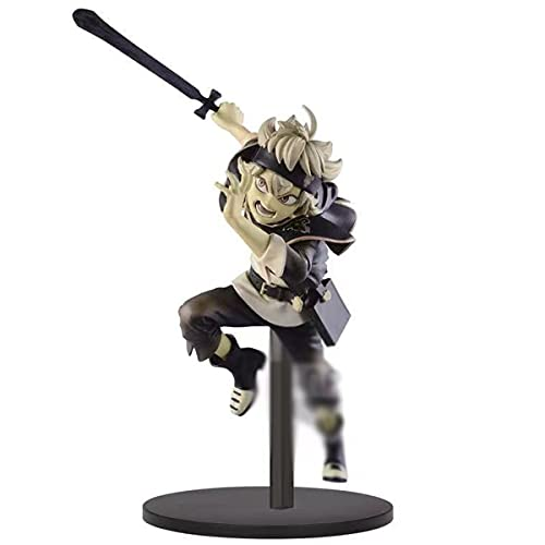 ZYLFP Black Clover Figure Asta Figure PVC Figurine Statue Ornaments Collection Jouet Souvenir Cadeau pour Les Amateurs