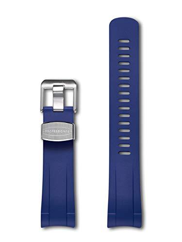 CRAFTER BLUE Correa Intercambiable del Reloj Extremo Curvado Compatible con Tudor Pelagos 25600TB, 25600TN, 25610TNL(LHD)