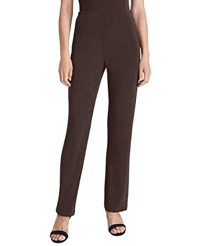 Chico's Women's Travelers Classic No Tummy Pants Size 16 XL (3 Tall) Black