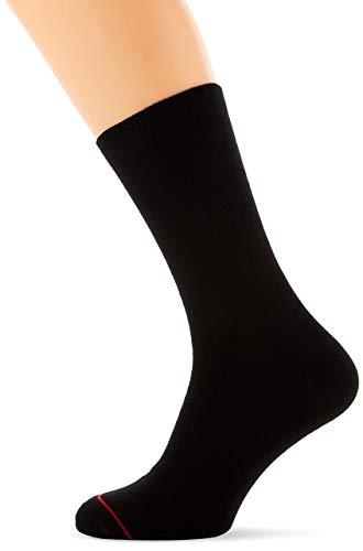 1000 Mile Herren Walking Classic Liner Socks, Schwarz, L