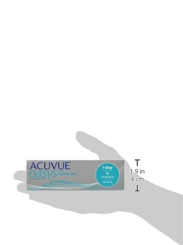 Acuvue Oasys Tageslinsen weich, 30 Stück/BC 8.5 mm/DIA 14.3 mm / -1.5 Dioptrien - 6
