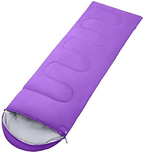 angelHJQ Saco de dormir hidrofóbico para adultos, ligero y compacto para mochileros, camping, montañismo y otros al aire libre