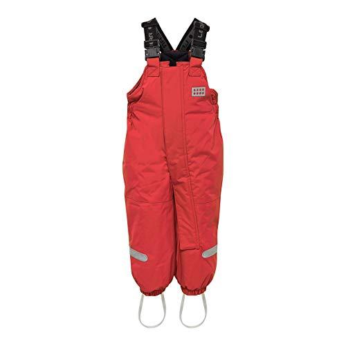 LEGO Wear Lego Duplo Tec Play Lwpan 704-Skihose/schneehose Pantalon De Neige, Rouge (Red 361), 95 (Taille Fabricant: 80) Mixte bébé