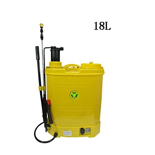JTYDFG Pulverizador a presión, Pulverizador fumigador Tipo Mochila 18 litros Hierbas Pulverizador Usado para controlar el Control de plagas.