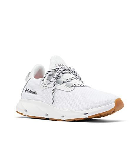 Columbia Vent Aero, Zapatillas para Caminar Mujer, Blanco y Negro, 37.5 EU