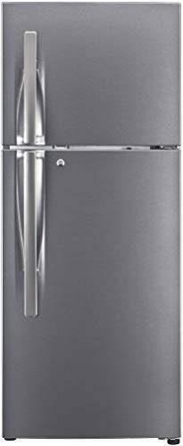 LG 260L 3 Star Smart Inverter Frost-Free Double Door Refrigerator (GL-S292RDSX, Dazzle Steel,...