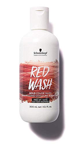 Schwarzkopf Professional - BoldColor Washes Shampoo , Rot (red wash) 300ml
