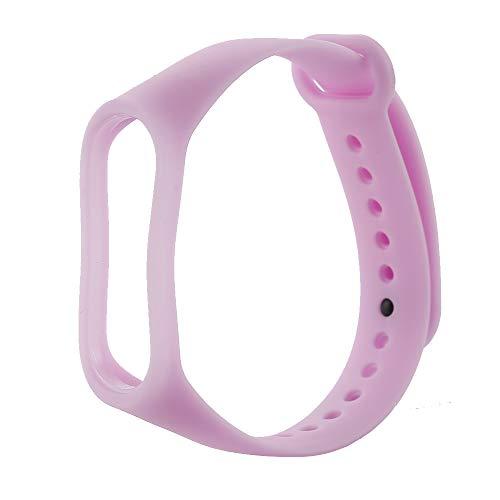 AHHYH Mi Band 3 Bandjes Lichtgevende Armband Vervanging Polsbanden Horloge Accessoires voor Xiaomi Mi Band 3, 25x1.8cm, Paars