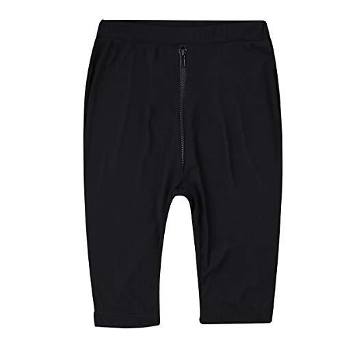 CHICTRY Pantalones Cortos de Malla Transparente Negro para Mujer Pants con Cremallera Cintura Alta Lencería Ropa Erótica Mujer Negro Small