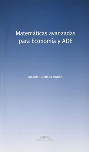 matemáticas avanzadas para Economía y ADE