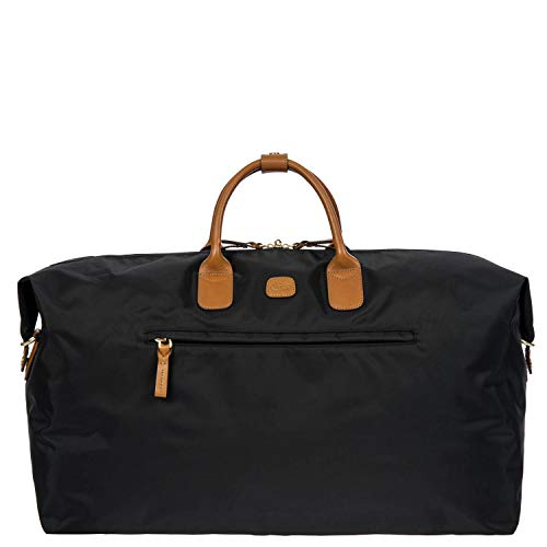 Bric's USA Luggage Model: X-BAG/X-TRAVEL |Size: 22' deluxe duffle | Color: BLACK