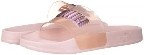 PUMA Womens Sophia Webster X Leadcat Glitter Princess Slides Sandals Casual - Pink