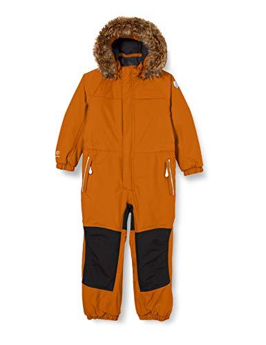 Color Kids Mädchen Anzug mit Futter Schneeanzug, Honey Ginger, 98