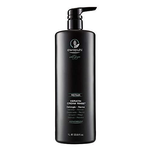 Paul Mitchell Awapuhi Wild Ginger Keratin Cream Rinse - Haar-Conditioner für trockenes, strapaziertes Haar, tägliche Haarpflege in Salon-Qualität, 1000 ml
