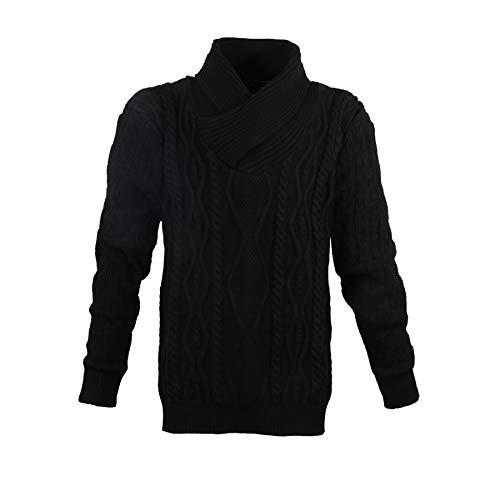 Lavecchia LV-488-Black oversized trui