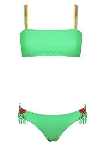 Histoire de Plage Meisjes Azteque Bikini Groen