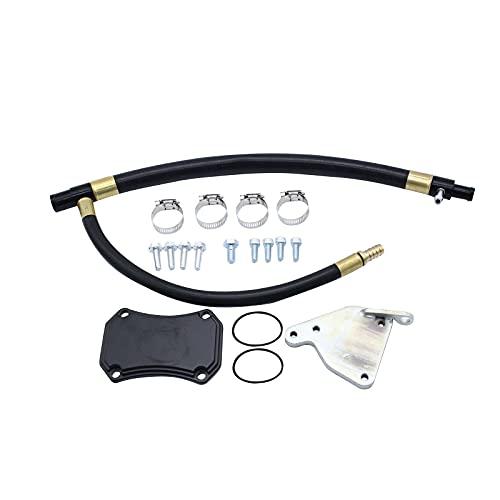bysonice Kit de Reapta ParacióN de Enfriador de VáLvula, Kit de VáLvula de Alto Rendimiento de 6,6 L Apta para Chevrolet Gmc 2011-2015, Enfriador Egr de Motor DiéSel Duramax Lml