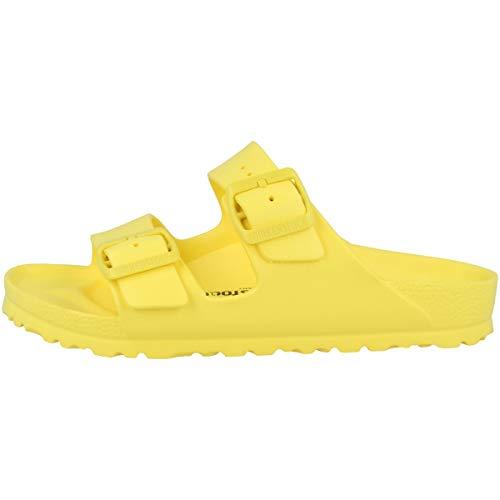 Birkenstock Arizona, Sandali Donna, Vibrant Yellow, 38 EU