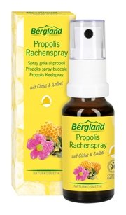 PROPOLIS RACHENSPRAY 3x20 ml Spray Perfekter Rachenschutz gegen Viren und Bakterien, mit Cistus + Salbei, ohne Alkohol