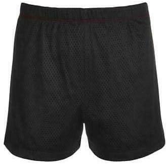 Ideology Big Girls Noir Rollover Waistband Mesh Active Shorts Size S MSRP $26