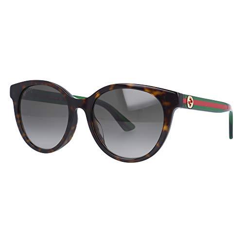 Gucci Occhiali da Sole GG0702SK HAVANA/BROWN SHADED 54/19/145 donna