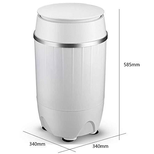 JKL Waschmaschine Mini, Baby und Kleinkind Baby Exklusive Blu-Ray Clean Geschmack Mini Mini Dehydrator 3,8 kg Kapazität Energiesparende Stummschaltung Geeignet für Schlafzimmer Wohnzimmer Balkon Bade
