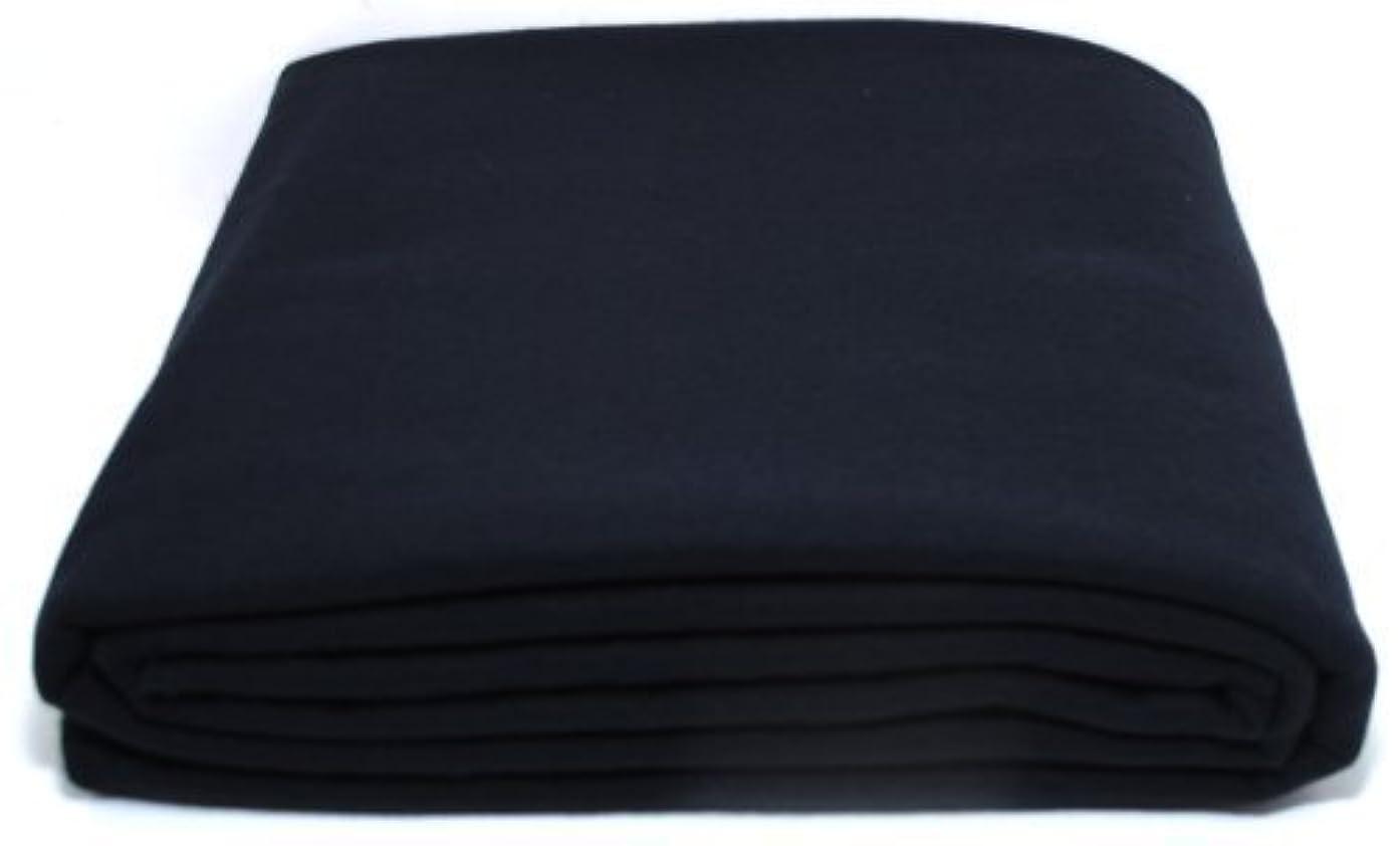 Anti-Tarnish Silver Cloth - Pre-cut by the Yard - Black (1 Yard by 58