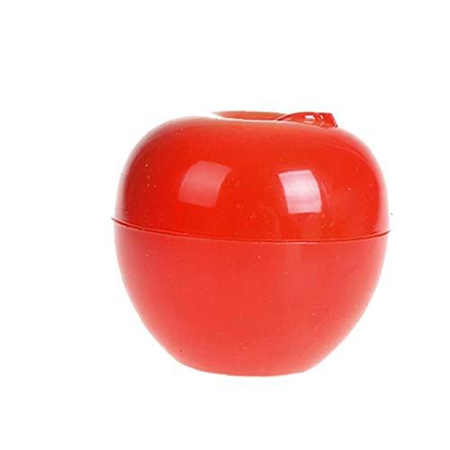 Fruit Forme Crème Bouteille multi Utilisation Mignon pot cosmétique Belle Lotion Container Bouteille vide Pot (Apple)