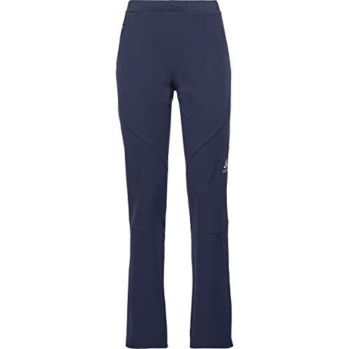Odlo Stryn Pantalon pour Femme Pantalon Long Car XL Peacoat